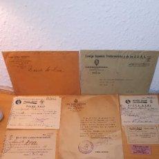Militaria: LOTE DOCUMENTOS FALANGE, BADAJOZ, AÑOS 40 Y 50. Lote 126770907