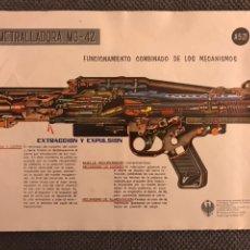 Militaria: LAMINA AMETRALLADORA MG-42 / LANZAGRANADAS DE 88'9 (A.1976). Lote 126910843
