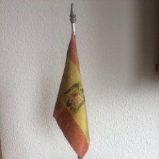 Militaria: BANDERA ÁGUILA IMPERIAL FRANQUISTA DE SOBREMESA. Lote 127488334