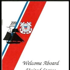 Militaria: WELCOME ABOARD USCGC ORCAS WPB-1327. Lote 127640770