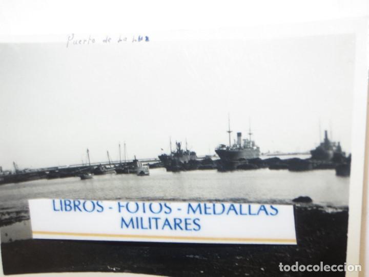 Militaria: FLOTA BARCOS PUERTO DE LA LUZ EN GUERRA CIVIL LEGION ESPAÑOLA LAS PALMAS GRAN CANARIA - Foto 2 - 117874259