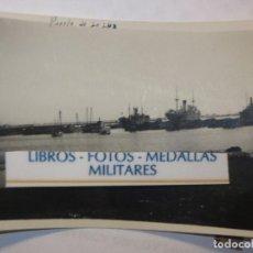 Militaria: FLOTA BARCOS PUERTO DE LA LUZ EN GUERRA CIVIL LEGION ESPAÑOLA LAS PALMAS GRAN CANARIA. Lote 117874259