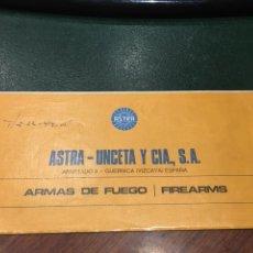 Militaria: CATALOGO PISTOLAS ASTRA-UNCETA Y CIA. Lote 128699174