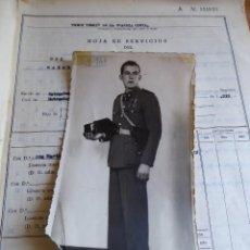 Militaria: HOJA DE SERVICIOS GUARDIA CIVIL. 1941-1972. Lote 129383419