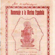 Militaria: LLERENA 1938. HOMENAJE A LA MARINA ESPAÑOLA. DESCUBRIMIENTO DE UNA LAPIDA. VER FOTOS.. Lote 131695790