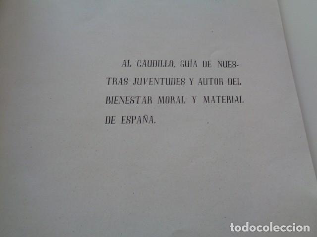 Militaria: CASTELLÓN. ESTADIO CASTALIA. 1943 1945. RARO LIBRITO CONSTRUCCIÓN DEL ESTADIO EN EPOCA FRANQUISTA. - Foto 3 - 131866534