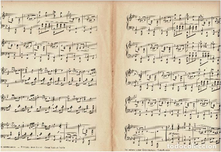Militaria: Partitura Paso doble militar a piano Patria por J. de Cusa. 1910 - Foto 3 - 131926262