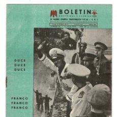 Militaria: BARCELONA 1939 BOLETÍN DOCTRINAL Y TÉCNICO DE FALANGE.. Lote 131994818