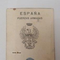 Militaria: PERMISO DE CONDUCCION FUERZAS ARMADAS 1971. Lote 132030290