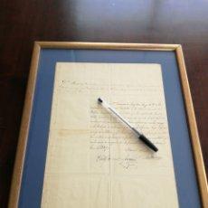 Militaria - Certificado de armas primera guerra carlista 1837 - 132271499