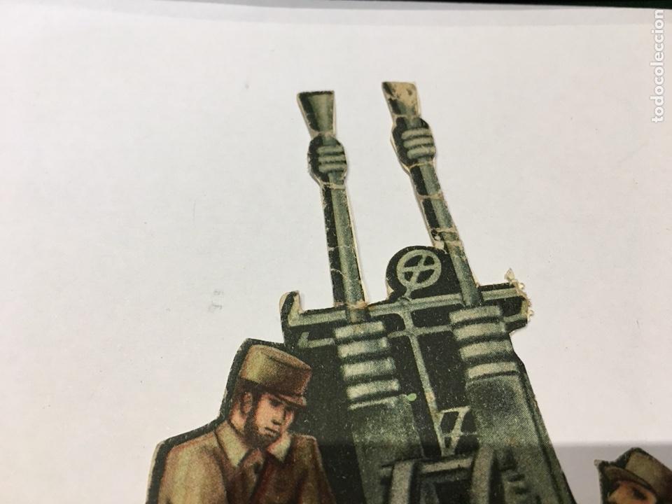 Militaria: Recortable Ejército Popular Ametralladora Anti Aérea guerra civil 1936-1939 - Foto 2 - 132814043