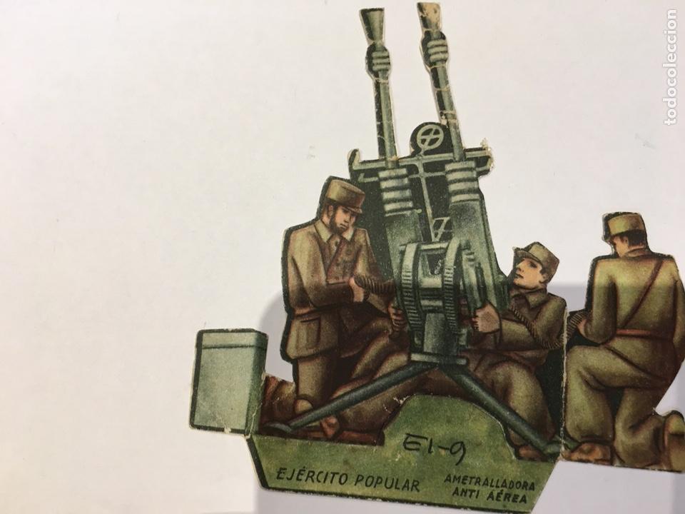 Militaria: Recortable Ejército Popular Ametralladora Anti Aérea guerra civil 1936-1939 - Foto 3 - 132814043