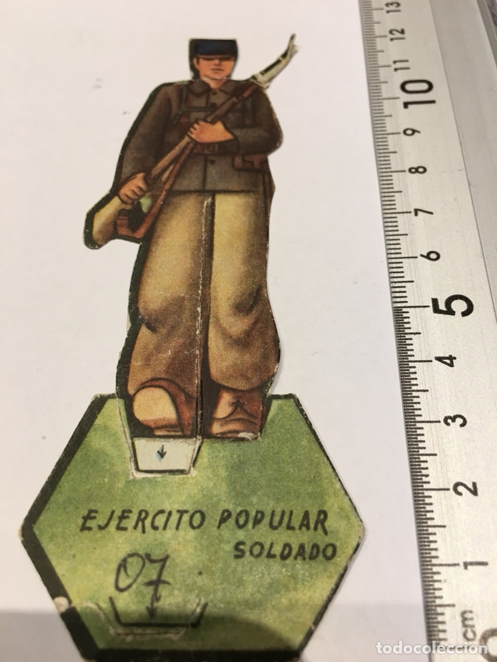 RECORTABLE EJÉRCITO POPULAR SOLDADO GUERRA CIVIL 1936-1939 (Militar - Propaganda y Documentos)