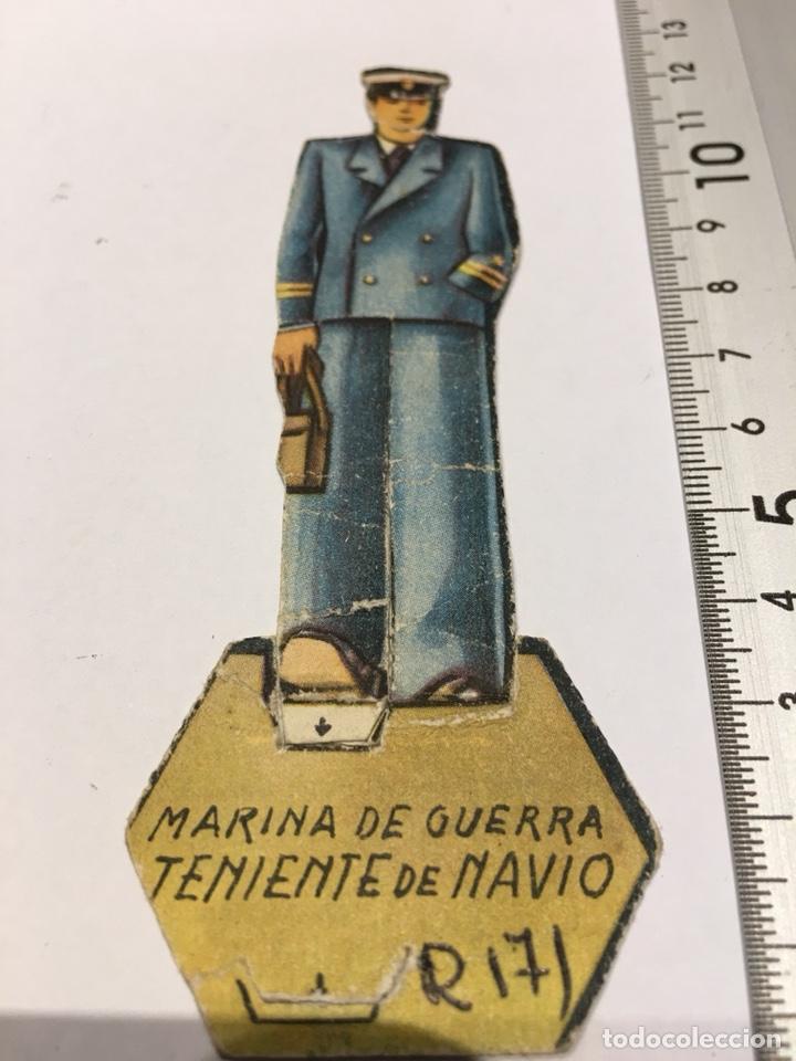 RECORTABLE MARINA DE GUERRA TTE DE NAVÍO (Militar - Propaganda y Documentos)
