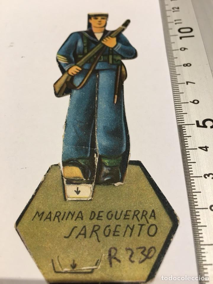 RECORTABLE MARINA DE GUERRA SARGENTO EJÉRCITO II REPUBLICA GUERRA CIVIL 1936-1939 (Militar - Propaganda y Documentos)