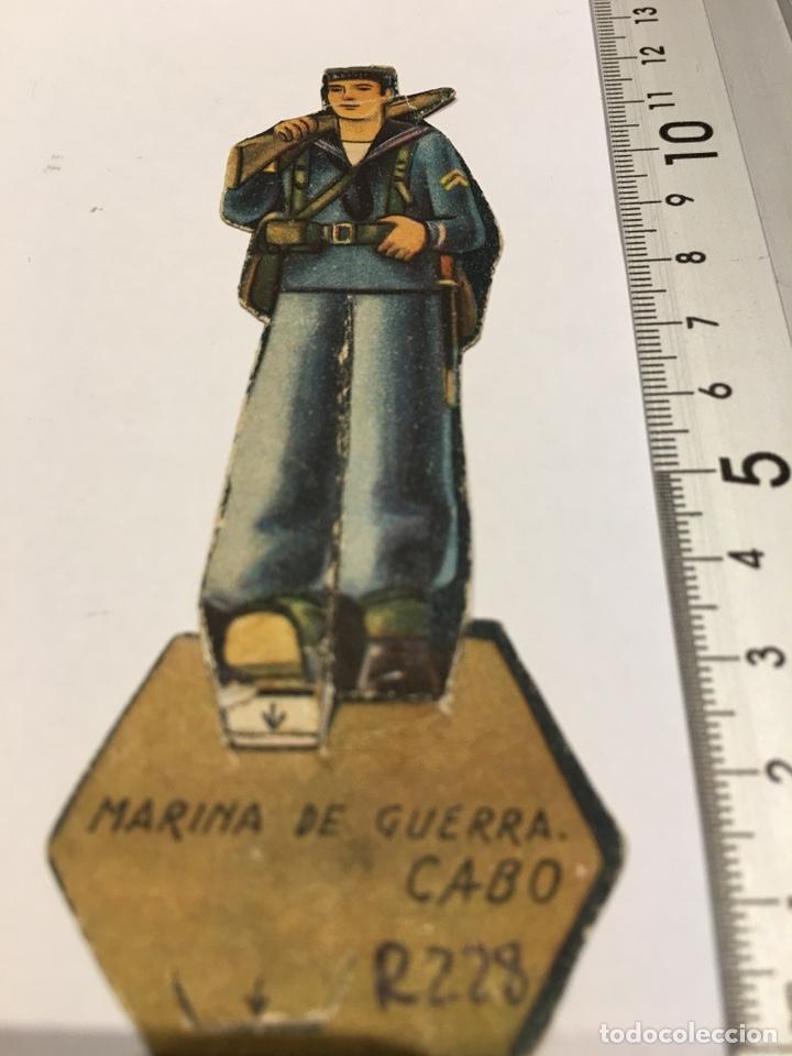 RECORTABLE MARINA DE GUERRA CABO II REPUBLICA GUERRA CIVIL 1936/1939 (Militar - Propaganda y Documentos)