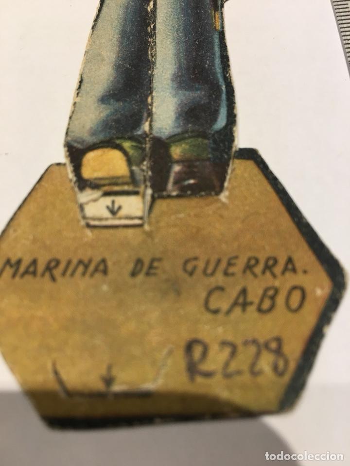 Militaria: Recortable Marina de Guerra Cabo II Republica Guerra Civil 1936/1939 - Foto 3 - 132845470
