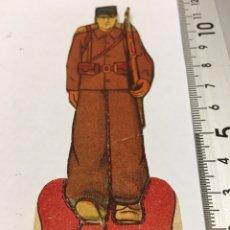 Militaria: RECORTABLE EJÉRCITO POPULAR SOLDADO GUERRA CIVIL 1936-1939. Lote 132845777