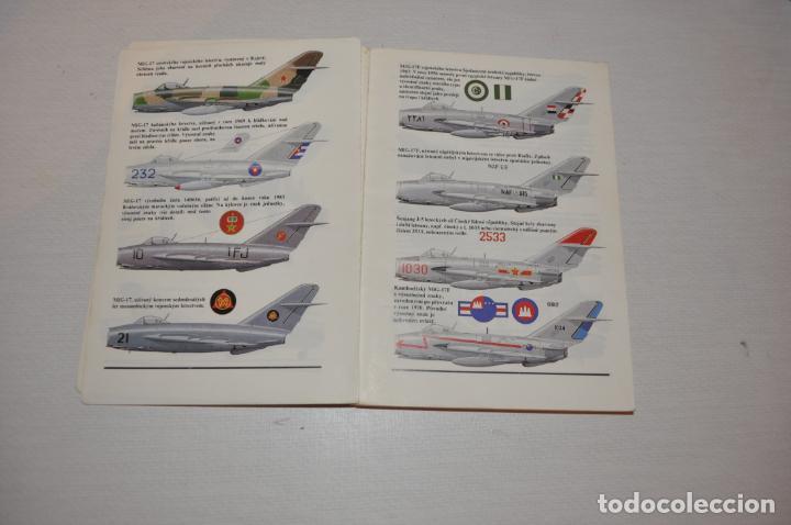 Militaria: Libro .Historia de aviones .Praga .1989a .Checoslovakia - Foto 3 - 133558554