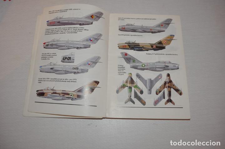 Militaria: Libro .Historia de aviones .Praga .1989a .Checoslovakia - Foto 5 - 133558554