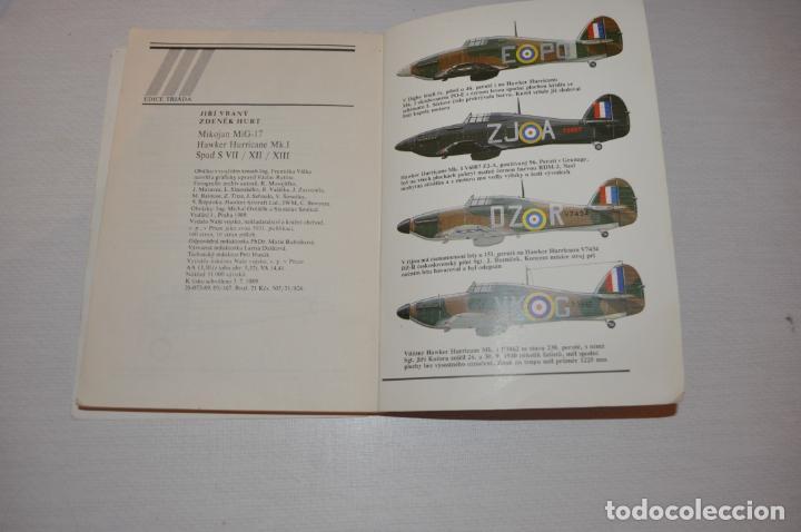 Militaria: Libro .Historia de aviones .Praga .1989a .Checoslovakia - Foto 6 - 133558554
