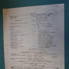 Militaria: DOCUMENTO TAMAÑO CUARTILLA, RESERVA GENERAL DE ARTILLERÍA, 1947. Lote 133713966