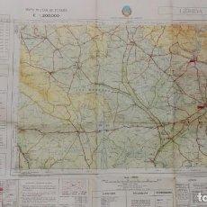 Militaria: MAPA MILITAR DE LERIDA. Lote 134793122