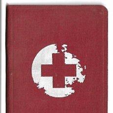 Militaria: A50- SANIDAD MEDICINA CARNET CRUZ ROJA ESPAÑOLA ,SOCIO DE NUMERO- 55275 DEL 7- 5 -1935. Lote 135296874