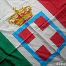 Militaria: RARA BANDERA HISTORICA. REINO DE ITALIA. ESCUDO DE LA CASA SABOYA. ITALIA FASCISTA.. Lote 252253255