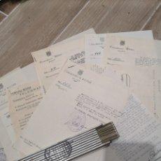 Militaria: LOTE DE 12 DOCUMENTOS, COMANDANCIA MILTAR DE ALCOY, AÑOS 40-50, TELEGRAMAS, GOBIERNO MILITAR. Lote 137148540