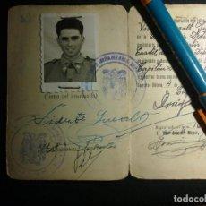 Militaria: CARNET DEL REGIMIENTO DE INFANTERIA ESPAÑA 18. Lote 137237454