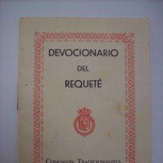 Militaria: DEVOCIONARIO DEL REQUETE. Lote 137240078