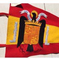Militaria: BANDERA BANDERIN BORDADO CORNELI MILITAR ESPAÑA FRANCO FRANQUISTA FALANGE,60 CMS. Lote 137931040