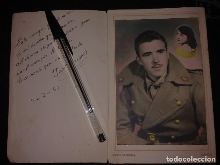 Militaria: FOTO DEDICADA DE SOLDADO DE ARTILLERIA - Foto 3 - 138061470