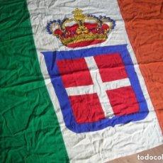 Militaria: ANTIGUA BANDERA ITALIANA. CTV. II GUERRA MUNDIAL. MUSSOLINI. ITALIA FASCISTA. 100% ORIGINAL.. Lote 138082114