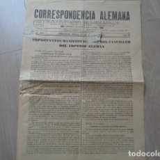Militaria: BARCELONA. CORRESPONDENCIA ALEMANA. I GUERRA MUNDIAL. 1918. NÚM. 298. SUSCRIPTOR DE VALENCIA.. Lote 138999006