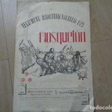 Militaria: SANTANDER. REGIMIENTO INFANTERIA VALENCIA Nº 23. REVISTA EL MOSQUETÓN. MARZO 1952.. Lote 138999310