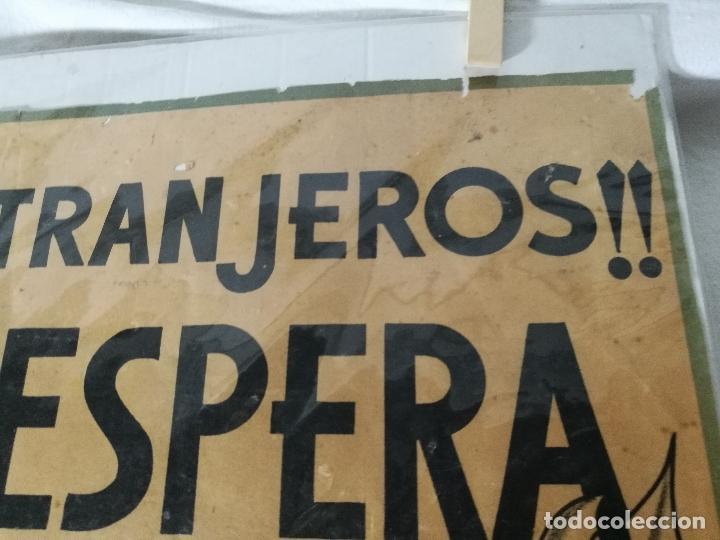 Militaria: cartel de La Legion Guerra Civil--ORIGINAL !!!! impresor martin i.g.ancora ..madrid - Foto 15 - 139454910