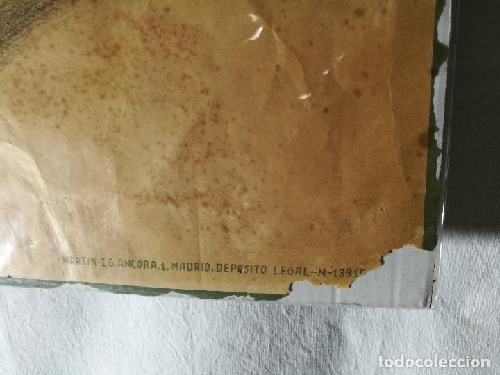 Militaria: cartel de La Legion Guerra Civil--ORIGINAL !!!! impresor martin i.g.ancora ..madrid - Foto 24 - 139454910