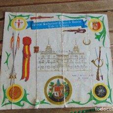 Militaria: TERCIO SAHARIANO D. JUAN DE AUSTRIA III DE LA LEGION DIPLOMA A CABALLERO LEGIONARIO 1976 ROTURAS. Lote 139929818