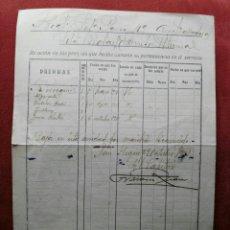 Militaria: REGIMIENTO AMETRALLADORAS DE PAVIA. FIRMA FRANCISCO FRANCO? ENVIO CERTIFICADO INCLUIDO.. Lote 140139654