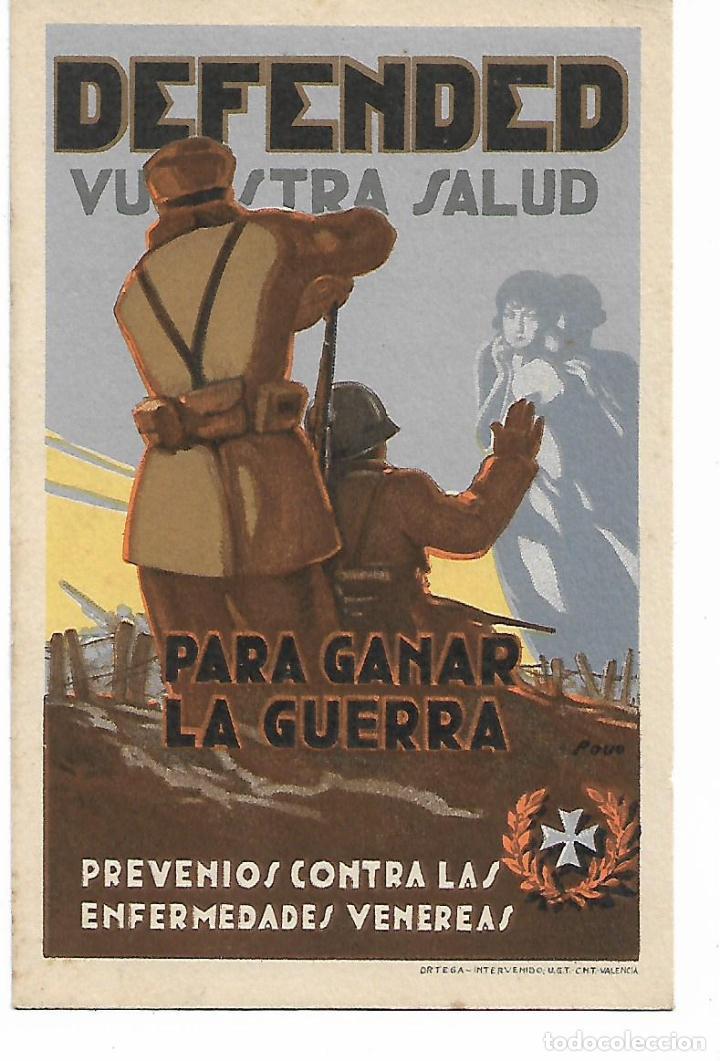 FOLLETO ORIGINAL GUERRA CIVIL - ORTEGA VALENCIA - UGT - CNT . (Militar - Propaganda y Documentos)