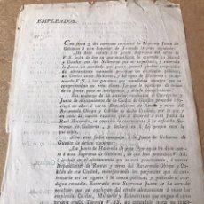 Militaria: DOCUMENTO GUERRA INDEPENDENCIA 1808. Lote 140637470