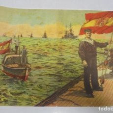 Militaria: CALENDARIO PARA 1915. PUBLICITARIO. PASTILLAS VALDA. VICENTE FERRER. BARCELONA. 31 X 24CM. Lote 140861546