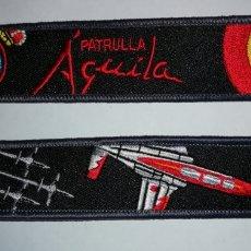 Militaria: LLAVERO BORDADO PATRULLA AGUILA EJERCITO DEL AIRE ESPAÑA. Lote 189466053