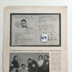 Militaria: FOLLETO DEL MINISTERIO DE PROPAGANDA 1936 , GUERRA CIVIL . , ORIGINAL . Lote 142034930