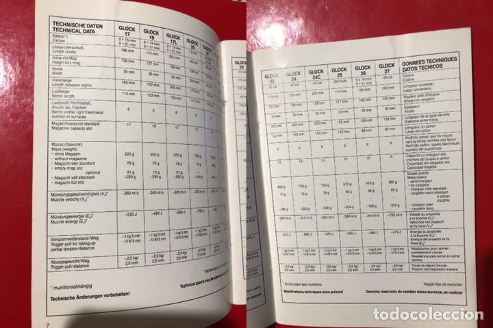 Militaria: Catálogo - manual- instrucciones de manejo de la pistola GLOCK - Foto 4 - 142833153