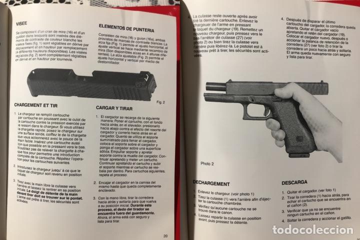 Militaria: Catálogo - manual- instrucciones de manejo de la pistola GLOCK - Foto 7 - 142833153