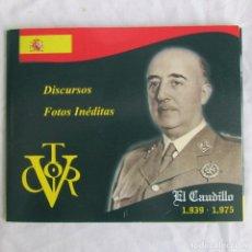 Militaria: CD CON DISCURSOS DEL CAUDILLO. ÚLTIMA FOTO DEL CAUDILLO. Lote 142890462
