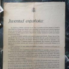 Militaria: DEPARTAMENTO NACIONAL DE PROPAGANDA, FALANGE, 1945, JOSE ANTONIO, FRANCO.... CONTRA EL COMUNISMO. Lote 142953496